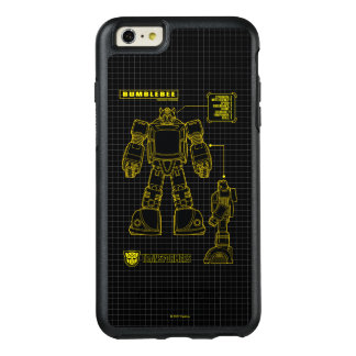 Transformers | Bumblebee Schematic OtterBox iPhone 6/6s Plus Case