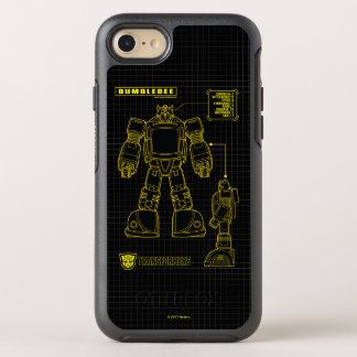 Transformers | Bumblebee Schematic OtterBox Symmetry iPhone 8/7 Case