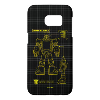 Transformers | Bumblebee Schematic Samsung Galaxy S7 Case