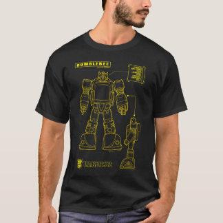 Transformers   Bumblebee Schematic T-Shirt