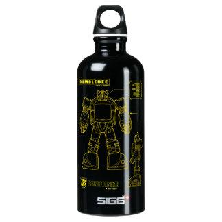 Transformers | Bumblebee Schematic Water Bottle