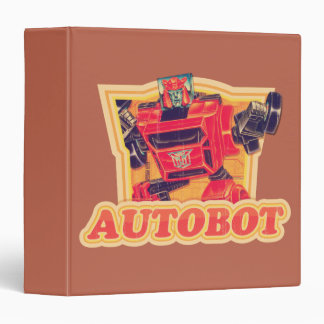 Transformers | Cliffjumper Autobot 3 Ring Binder
