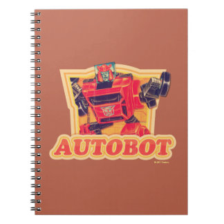 Transformers | Cliffjumper Autobot Notebooks