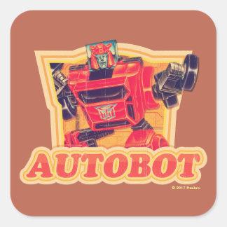 Transformers | Cliffjumper Autobot Square Sticker