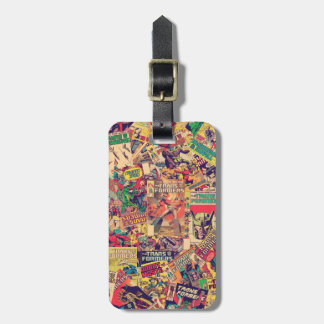 Transformers | Comic Book Print Luggage Tag