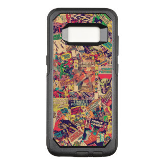 Transformers   Comic Book Print OtterBox Commuter Samsung Galaxy S8 Case