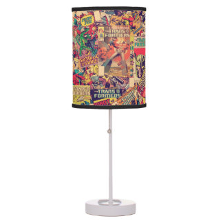 Transformers | Comic Book Print Table Lamp