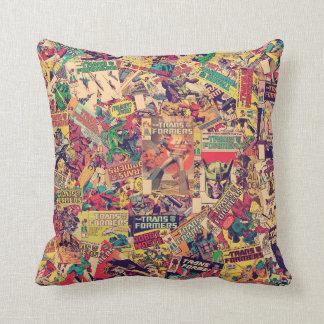 Transformers | Comic Book Print Throw Pillow