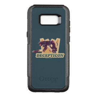 Transformers | Decepticon Graphic OtterBox Commuter Samsung Galaxy S8+ Case