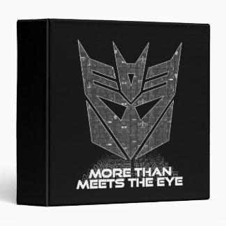 Transformers | Decepticon Shield Revealed Binders