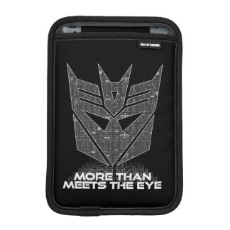 Transformers | Decepticon Shield Revealed iPad Mini Sleeve