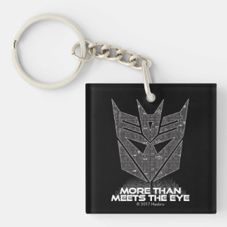 Transformers | Decepticon Shield Revealed Keychain