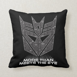 Transformers | Decepticon Shield Revealed Throw Pillow