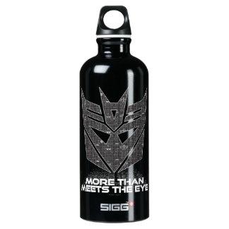 Transformers | Decepticon Shield Revealed Water Bottle