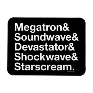 Transformers   Decepticons Ampersand Rectangular Photo Magnet