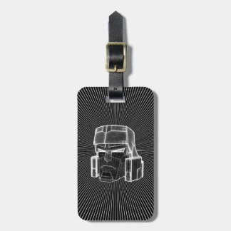 Transformers | Megatron 3D Model Luggage Tag