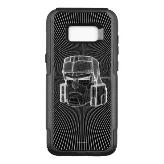 Transformers | Megatron 3D Model OtterBox Commuter Samsung Galaxy S8+ Case