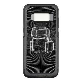 Transformers | Megatron 3D Model OtterBox Commuter Samsung Galaxy S8 Case