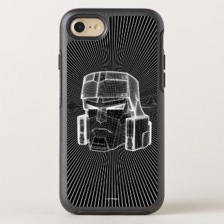 Transformers | Megatron 3D Model OtterBox Symmetry iPhone 8/7 Case