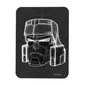 Transformers | Megatron 3D Model Rectangular Photo Magnet
