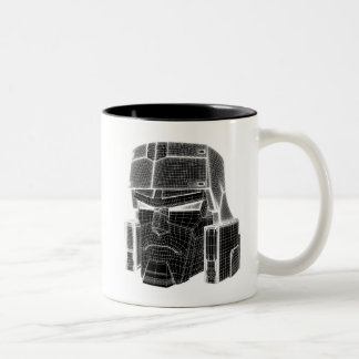 Transformers | Megatron 3D Model Two-Tone Coffee Mug