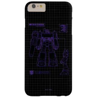 Transformers | Megatron Leader of the Decepticons Barely There iPhone 6 Plus Case