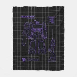 Transformers | Megatron Leader of the Decepticons Fleece Blanket