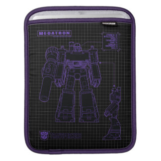 Transformers | Megatron Leader of the Decepticons iPad Sleeve