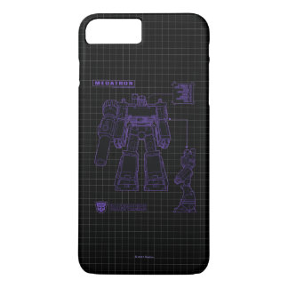 Transformers | Megatron Leader of the Decepticons iPhone 8 Plus/7 Plus Case