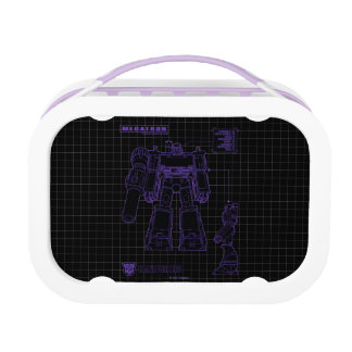 Transformers | Megatron Leader of the Decepticons Lunch Box