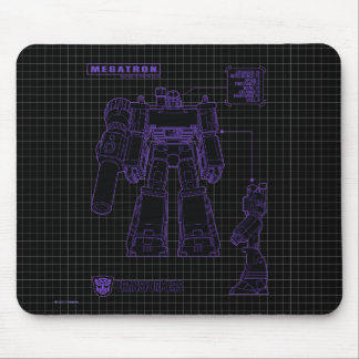 Transformers | Megatron Leader of the Decepticons Mouse Pad