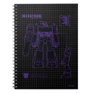 Transformers | Megatron Leader of the Decepticons Notebook