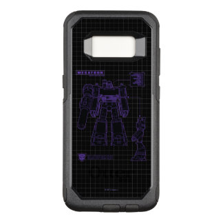 Transformers | Megatron Leader of the Decepticons OtterBox Commuter Samsung Galaxy S8 Case