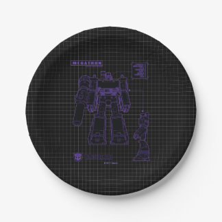 Transformers | Megatron Leader of the Decepticons Paper Plate