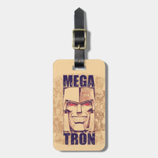 Transformers | Megatron Returns Luggage Tag