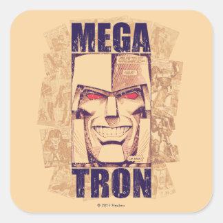 Transformers | Megatron Returns Square Sticker