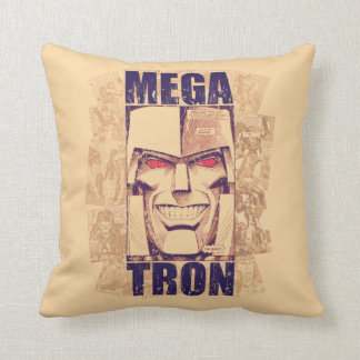 Transformers | Megatron Returns Throw Pillow