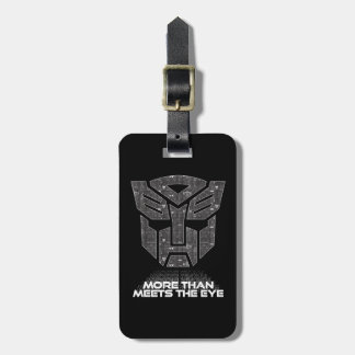 Transformers | More than Meets the Eye Luggage Tag