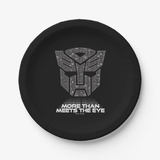 Transformers | More than Meets the Eye Paper Plate
