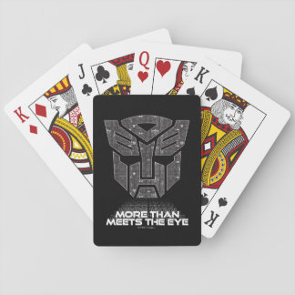 Transformers | More than Meets the Eye Playing Cards