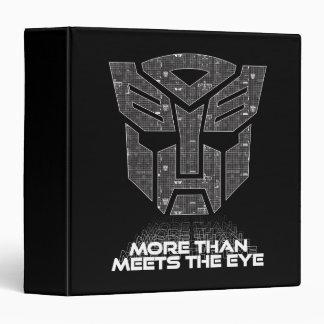 Transformers | More than Meets the Eye Vinyl Binder