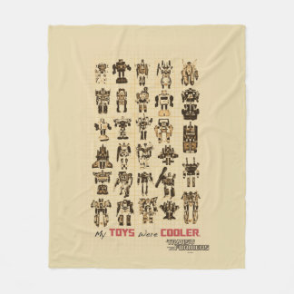 Transformers | My Toys Were Cooler Fleece Blanket
