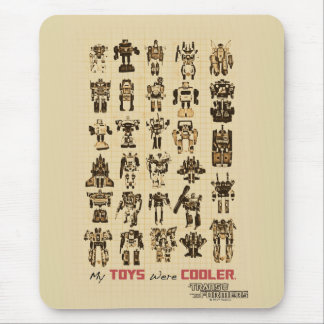 Transformers | My Toys Were Cooler Mouse Pad