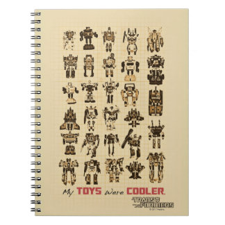 Transformers | My Toys Were Cooler Notebooks