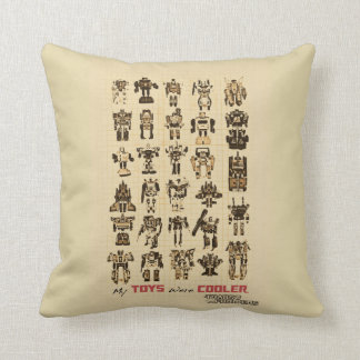 Transformers | My Toys Were Cooler Throw Pillow