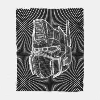 Transformers | Optimus Prime 3D Model Fleece Blanket