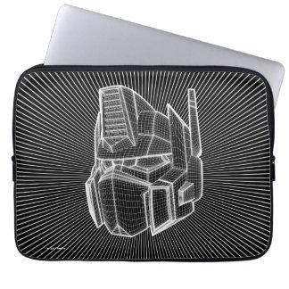 Transformers | Optimus Prime 3D Model Laptop Sleeve