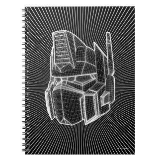 Transformers | Optimus Prime 3D Model Notebooks