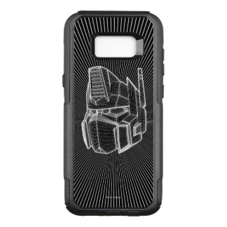 Transformers | Optimus Prime 3D Model OtterBox Commuter Samsung Galaxy S8+ Case