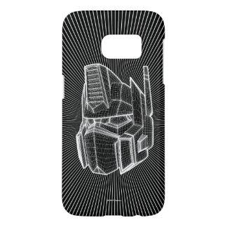 Transformers | Optimus Prime 3D Model Samsung Galaxy S7 Case